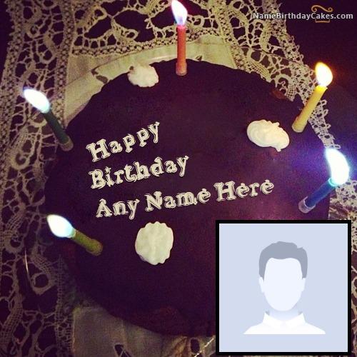 Create Birthday Cake For Boyfriend With Name