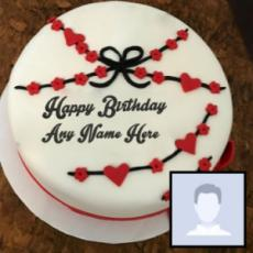 Top Birthday Cake For Boys With Name And Photo