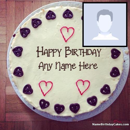 Astonishing Birthday Cake With Photo Generator Make Friend Birthday Special Personalised Birthday Cards Veneteletsinfo