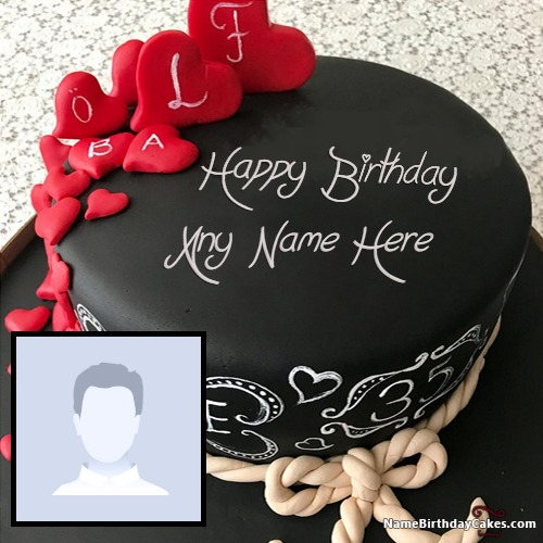 Incredible Get Birthday Cake With Name And Photo Editor Online Free Personalised Birthday Cards Epsylily Jamesorg