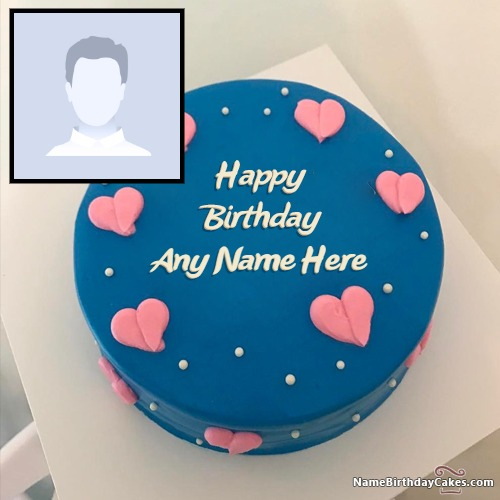 Get Birthday Cakes For Men With Name And Photo